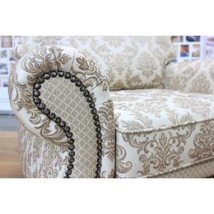 Кресло GRUPPO 396 Грильяно CAPRICE, ткань, цвет бежевый