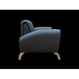 Кресло офисное GRUPPO 396 Клерк 11, черный Ecotex 3001