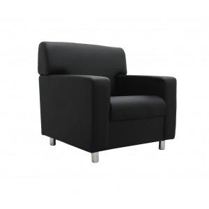 Кресло Клерк 3 черный Ecotex 3001