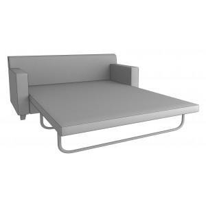 Диван-кровать  тройной с механизмом французская раскладушка Неон