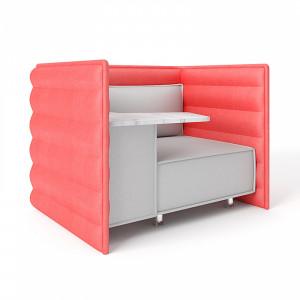 Полуторный диван Нэтворк модуль А со столом