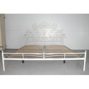 Кровать Анета кованая (с металлическими царгами)