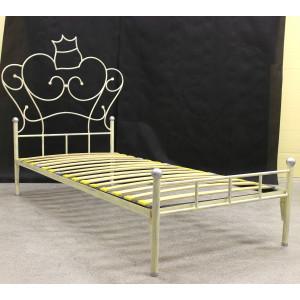"""Кровать """"Анжелика"""" кованая (с металлическими царгами)"""