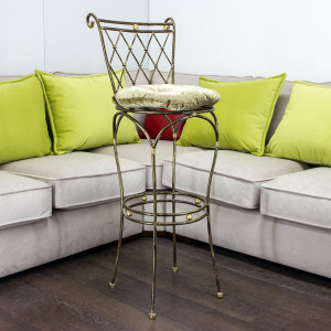 Барный стул Батист цвет №13 с набивной подушкой