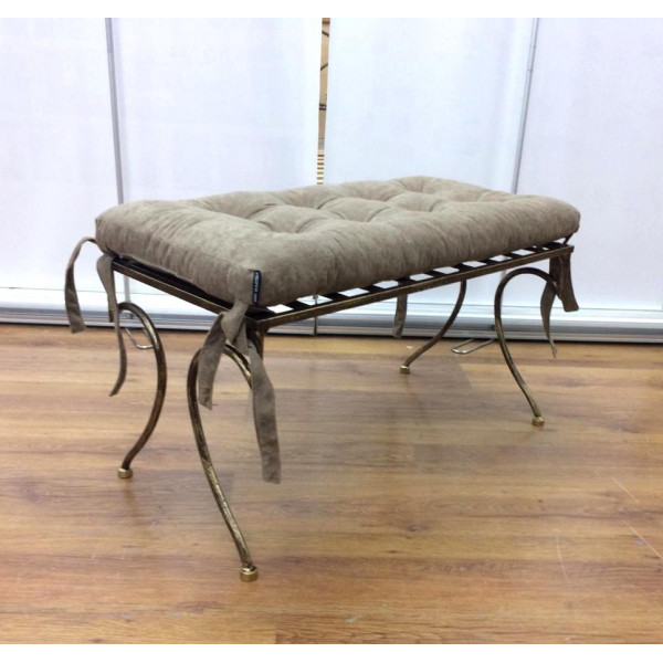 Банкетка Джульета кованая (подушка набивная)
