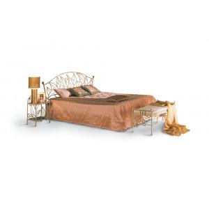 Кровать Капри кованая (с мягкими царгами)