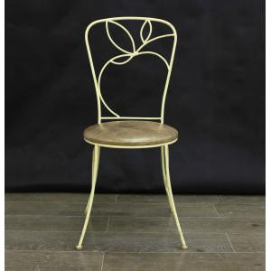 Стул Яблоко цвет №7 c сиденьем на фанере