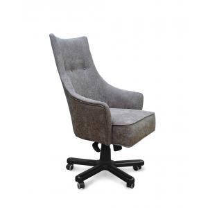 Кресло Дюранго Модерн на опоре пятилучье с деревянными накладками
