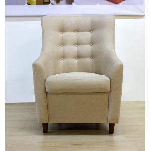 Кресло GRUPPO 396 Рикс, рогожка, цвет бежевый