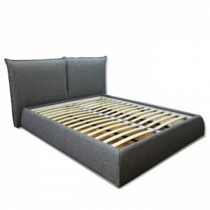 Кровать Ларнель серого цвета