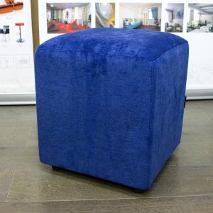 Пуф Лори квадратный синий