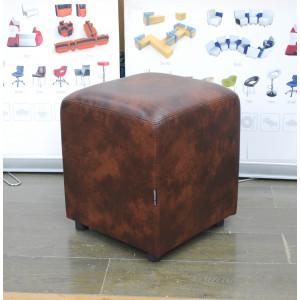 Пуф Лори квадратный коричневый