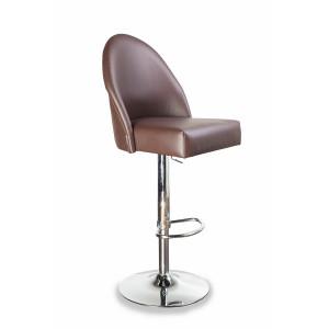 Барный стул Бейз на опоре барная рингбаза хромированная