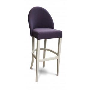 Барный стул Бейз на опоре барная деревянная (арт.222) (высота посадочного места 850 мм)