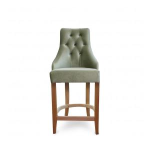 Барный стул Дадо на опоре полубарная деревянная (арт.222) (высота посадочного места 650 мм)