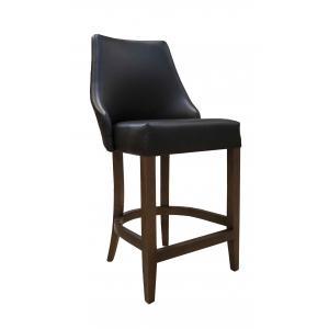 Барный стул Дени на опоре полубарная деревянная (арт.222) (высота посадочного места 650 мм)