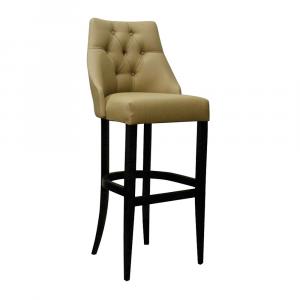 Барный стул Дени Классика на опоре барная деревянная (арт.222) (высота посадочного места 850 мм)