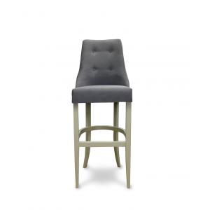 Барный стул Гвен на опоре барная деревянная (арт.222) (высота посадочного места 850 мм)