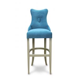 Барный стул Хилс на опоре барная деревянная (арт.222) (высота посадочного места 850 мм)