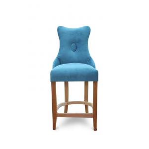 Барный стул Хилс на опоре полубарная деревянная (арт.222) (высота посадочного места 650 мм)