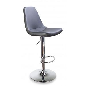 Барный стул Клод на барной хромированной рингбазе