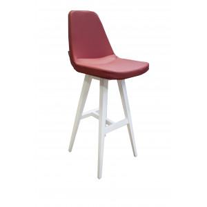 Барный стул Клод на деревянной базе 888 (высота посадочного места 850мм)