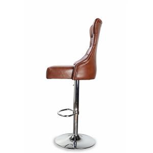 Барный стул Коко на хромированной базе