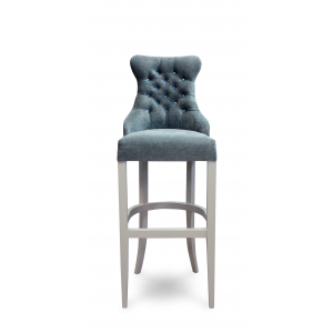 Барный стул Коко на опоре барная деревянная (арт.222) (высота посадочного места 850 мм)