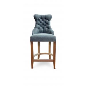 Барный стул Коко на опоре полубарная деревянная (арт.222) (высота посадочного места 650 мм)