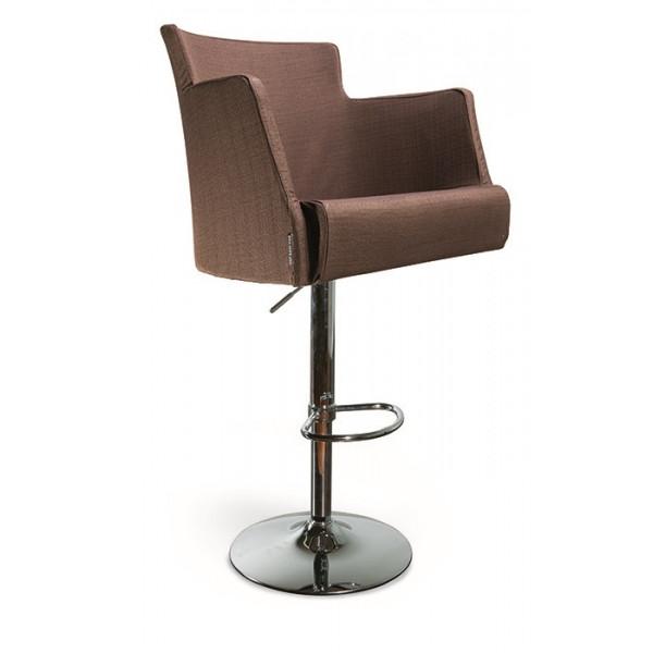 Барный стул Крипс на хромированной  базе
