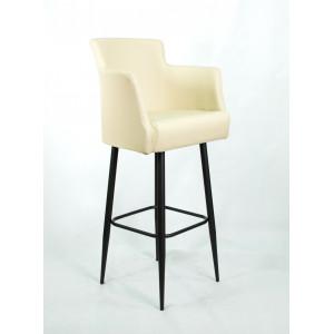 Барный стул Крипс на опоре барная металлическая редуцированная 36х25 (арт. К-111)