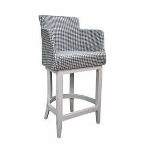 Полубарный стул Крипс  на деревянной базе