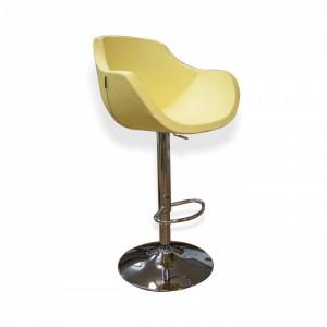 Барный стул Квинт на хромированной  базе