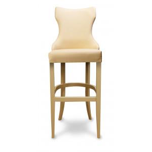 Барный стул Лекс на опоре барная деревянная (арт.222) (высота посадочного места 850 мм)