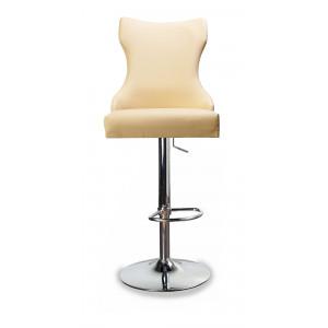 Барный стул Лекс на опоре барная хромированная рингбаза