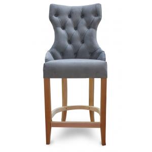 Барный стул Лекс Классика на опоре полубарная деревянная (арт.222) (высота посадочного места 650 мм)