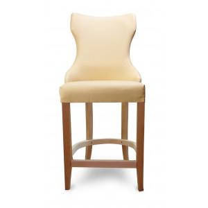 Барный стул Лекс на опоре полубарная деревянная (арт.222) (высота посадочного места 650 мм)