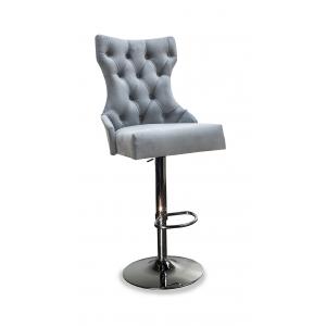 Барный стул Лекс Классика на опоре барная хромированная рингбаза