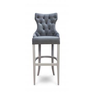 Барный стул Лекс Классика на опоре барная деревянная (арт.222) (высота посадочного места 850 мм)