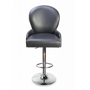 Барный стул Лира на опоре барная хромированная рингбаза