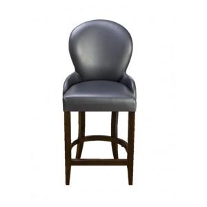 Барный стул Лира на полубарной деревянной базе (арт.222) (высота посадочного места 650 мм)
