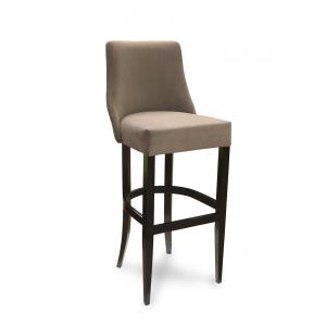 Барный стул Марин на опоре барная деревянная (арт.222) (высота посадочного места 850 мм)
