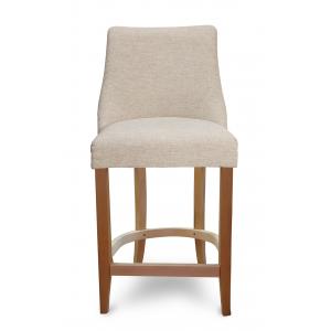 Барный стул Марин на опоре полубарная деревянная (арт.222) (высота посадочного места 650 мм)