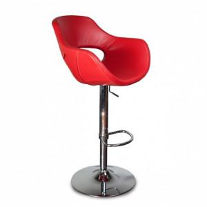 Барный стул Олибий на хромированной  базе