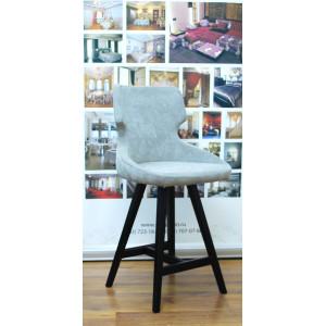 Барный стул Ветий на полубарной деревянной базе (арт.888) (высота посадочного места 650 мм)