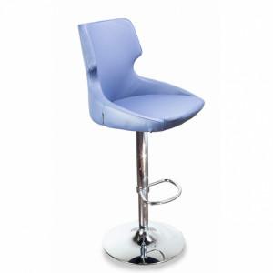 Барный стул Ветий на барной хромированной базе